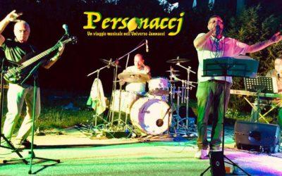 I Personaccj all'Arena estiva, per una serata fra cabaret e canzoni