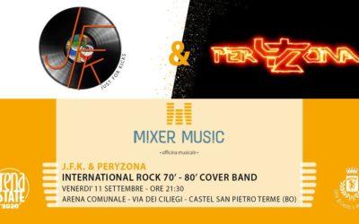 PeryZona e JFK in concerto all'Arena di Castel San Pietro