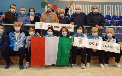 La Bocciofila Polisportiva femminile di Osteria Grande è campione d'Italia