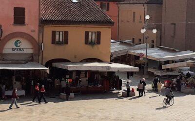 Sospeso il mercato del lunedì, Castel San Pietro si mette in quarantena