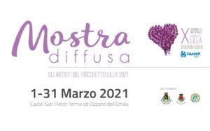 fiocchetto lilla mostra arte diffusa marzo 2021 castel san pietro terme ozzano