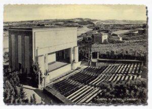 arena comunale castel san pietro terme cartolina epoca