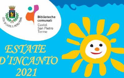 """Castel San Pietro, partita l'""""Estate d'Incanto 2021″ delle biblioteche"""