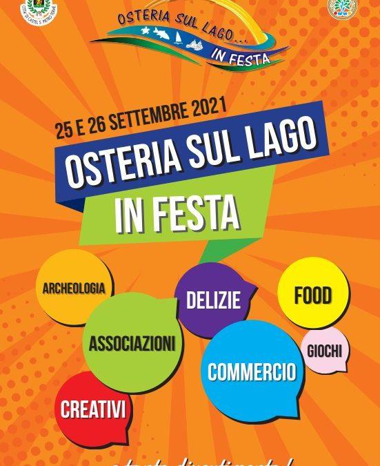 Osteria sul lago… in Festa chiude il Settembre Castellano 2021